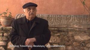 Basilis Tsoypras, THeologos -Koinoniologos